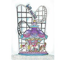Carosel Photographic Print