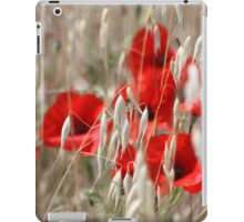 Poppies - JUSTART ©  iPad Case/Skin