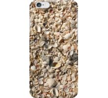 The paterns of Seashells on the Beach iPhone Case/Skin
