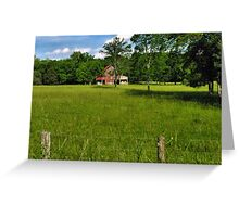"""""""Beyond the Fence line """"... prints and products Greeting Card"""