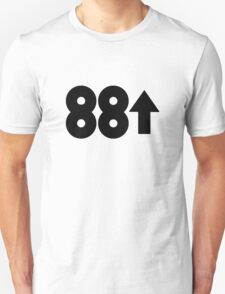 88 Rising (black) Unisex T-Shirt