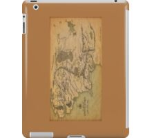 Middle Earth Map iPad Case/Skin