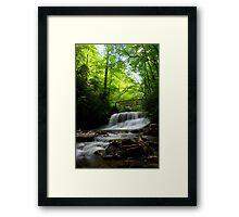 Middle Little Stony Falls Framed Print