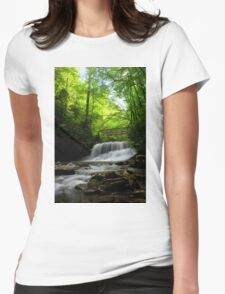 Middle Little Stony Falls Womens Fitted T-Shirt