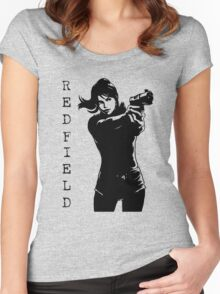 Claire Redfield Resident Evil 2 Women's Fitted Scoop T-Shirt