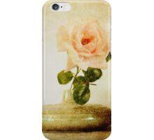 Vintage Rose - JUSTART © iPhone Case/Skin