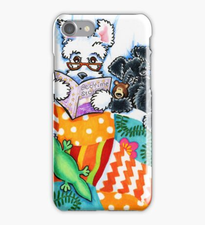 Schnauzers and Snoozes iPhone Case/Skin