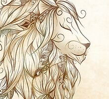 Poetic Lion by LouJah-