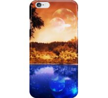 Night Forest and River iPhone Case/Skin