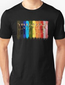 Hilary's Rainbow Color Pantsuit T-Shirt