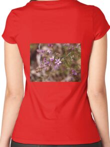 Philotheca Pink Women's Fitted Scoop T-Shirt