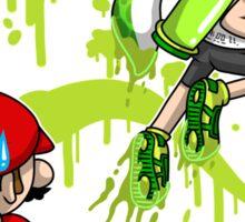Super Mess - (Green) Sticker