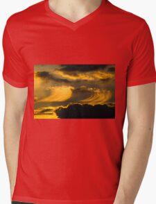 Draw the Sky Mens V-Neck T-Shirt