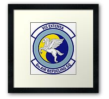 6th Air Refueling Squadron - Vis Extensa - Strength Extended Framed Print