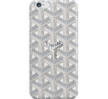 Goyard Perfect Case white iPhone Case/Skin