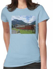 Swiss Mountain Railway Womens Fitted T-Shirt