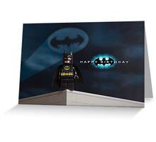 Batman themed Birthday Card Greeting Card