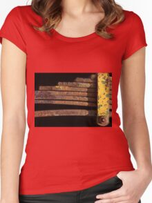 Abstract ... Auto Springs #01 Women's Fitted Scoop T-Shirt