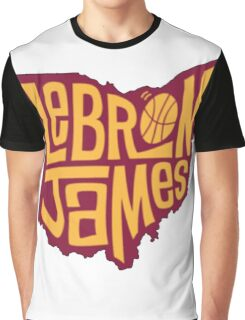 lebron the king james Graphic T-Shirt