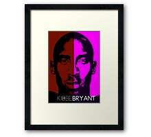 THE LEGEND KOBE BRYANT Framed Print
