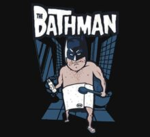 The Bathman (Incredible super hero with washing superpowers) by rdbbbl