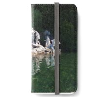 Waterfall At Caserta iPhone Wallet/Case/Skin