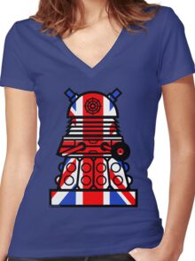 Dr Who - Jack Dalek Tee Women's Fitted V-Neck T-Shirt