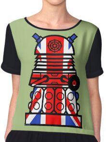 Dr Who - Jack Dalek Tee Chiffon Top