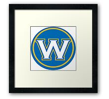 WARRIORS IN CIRCLE Framed Print
