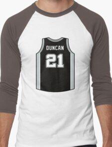 DUNCAN IS SPURS Men's Baseball ¾ T-Shirt