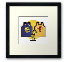 BATTLE OF MVP Framed Print