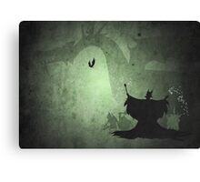 Maleficent inspired design. Canvas Print