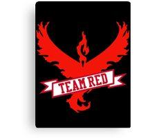 Team Red - Pokemon GO Canvas Print
