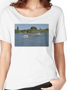 Rhine Barge Tempore Women's Relaxed Fit T-Shirt