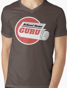 School News Guru Tshirt Mens V-Neck T-Shirt