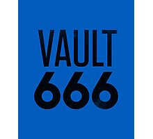 Vault 666 - The Most Metal Vault In All The Wasteland Photographic Print