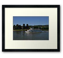 Rhine Cruiser Godesia Framed Print