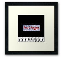 Marry and reproduce Framed Print