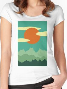 Invitation to Explore the Forrest Women's Fitted Scoop T-Shirt