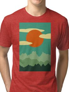 Invitation to Explore the Forrest Tri-blend T-Shirt