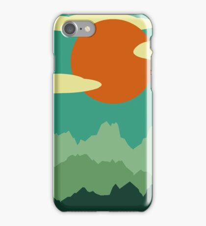 Invitation to Explore the Forrest iPhone Case/Skin