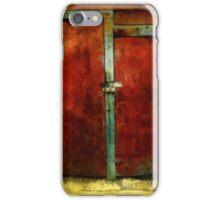 Vincent's Red Barn Doors iPhone Case/Skin