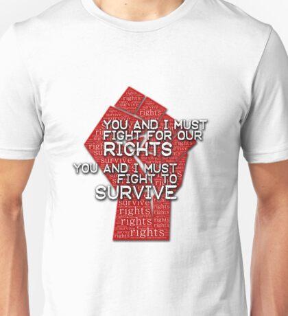 Muse - Knights of Cydonia fight Unisex T-Shirt