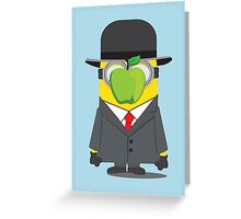 Magritte Minion Greeting Card