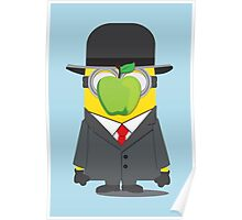 Magritte Minion Poster
