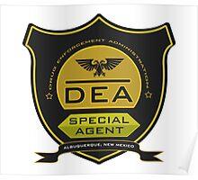 DEA Department - Braking Bad Poster