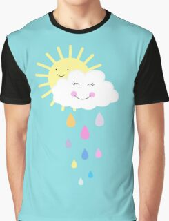 Happy Spring Days By Everett Co Graphic T-Shirt