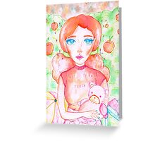 NOT YOUR PEACH  Greeting Card