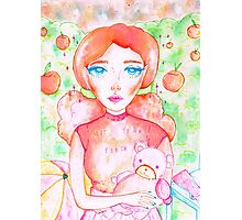 NOT YOUR PEACH  Photographic Print