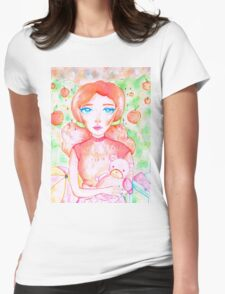 NOT YOUR PEACH  Womens Fitted T-Shirt